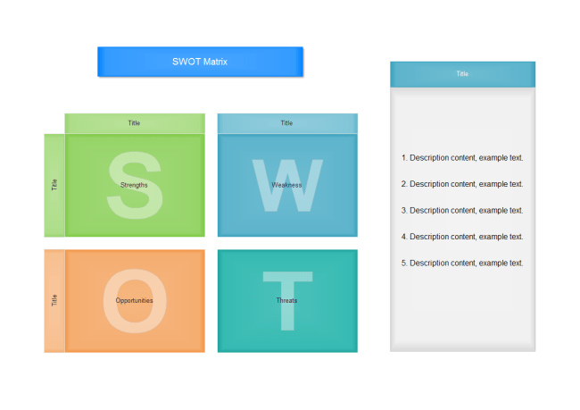 Swot Matrix Template Word. Free Swot Matrix Templates For Word