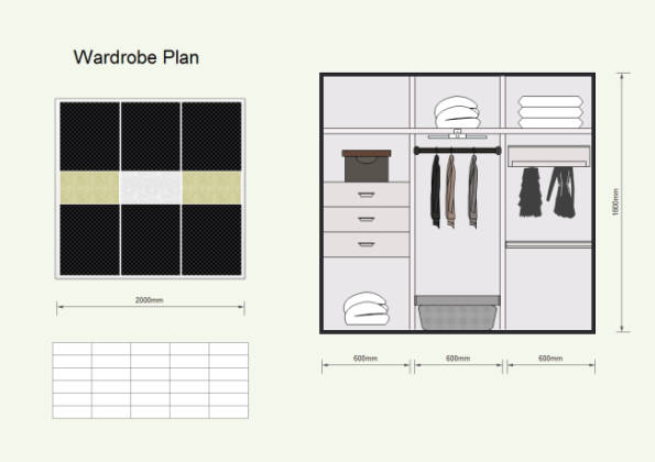 Wardrobe Plan   Free Wardrobe Plan Templates Description  A free customizable wardrobe plan template is provided to  download and print  Quickly get a head start when creating your own  wardrobe plan