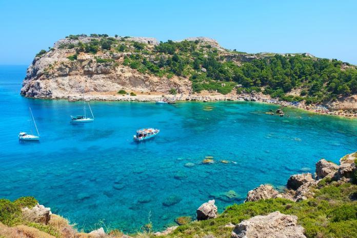 Praia de Rodes - Grécia