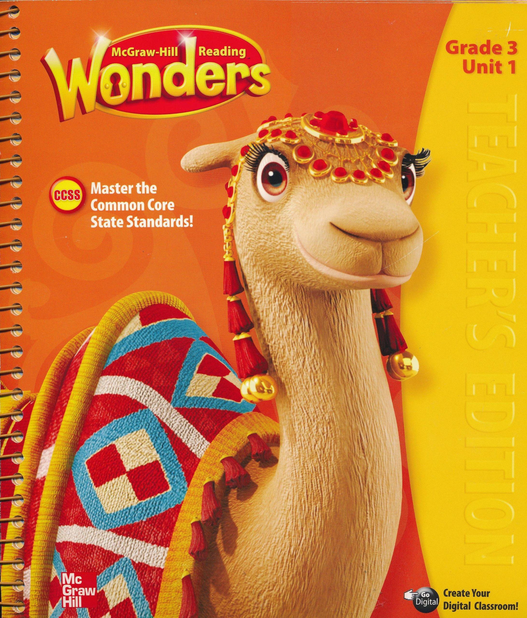Reading Wonders Third Grade