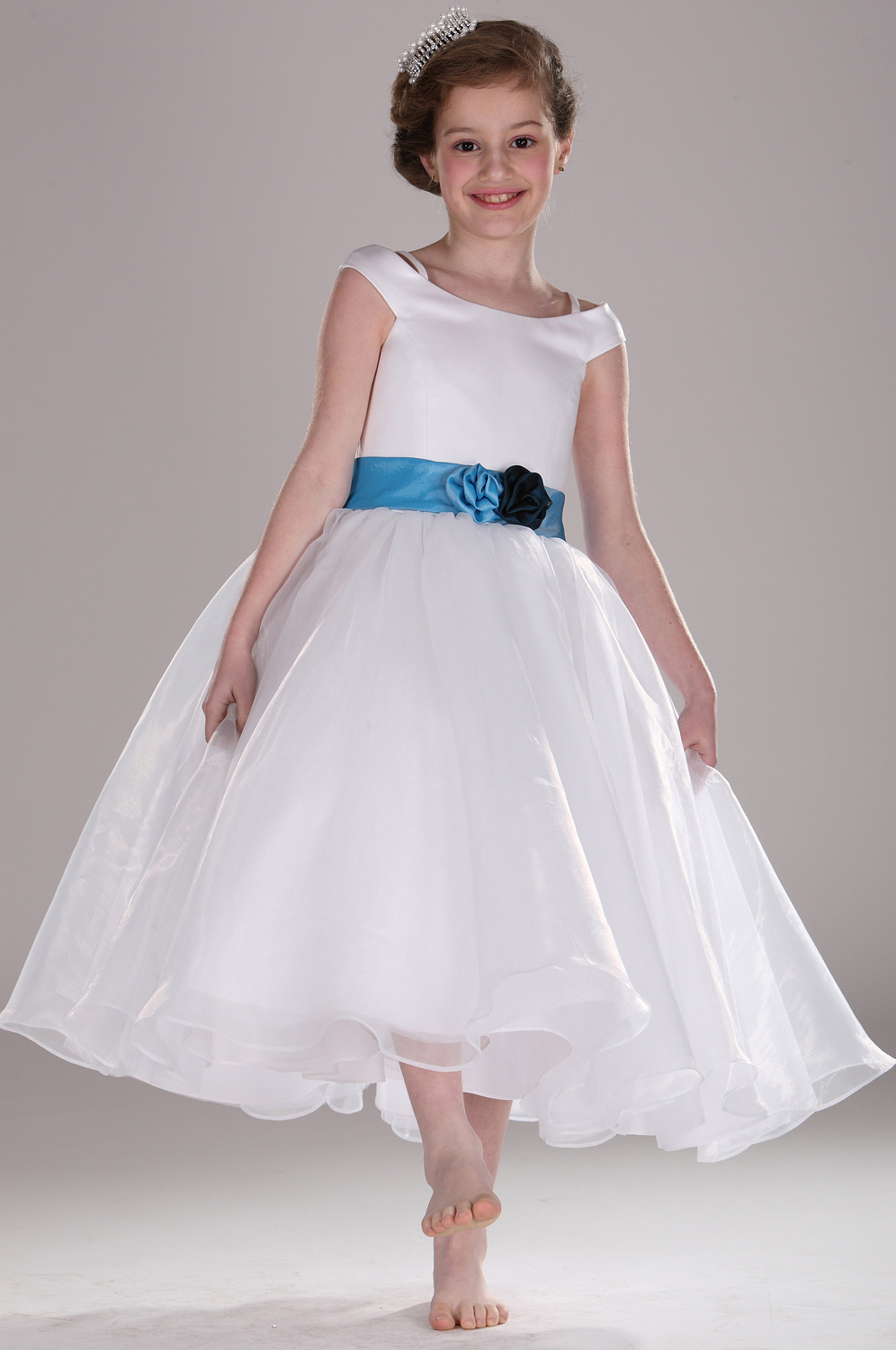 cheap and simple flower girl dresses