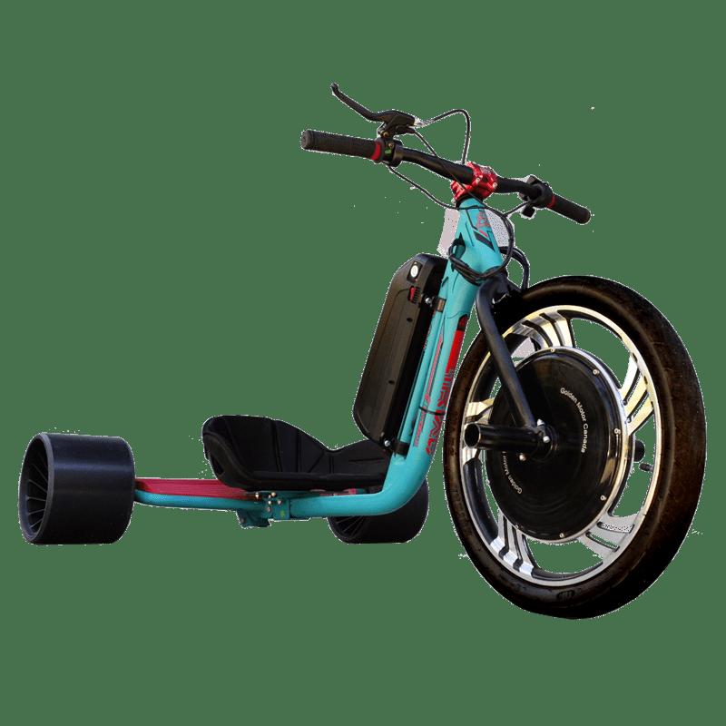 eDriftTrikes - Baseline Electric Drift Trike Front Right Quarter