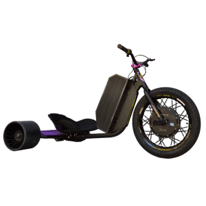 eDriftTrikes - Mid Power Electric Drift Trike Front Right Quarter