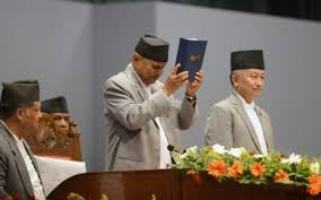 Nepal adopts first democratic Constitution