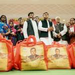 Akhilesh Yadav launches National Food Security Act in UP