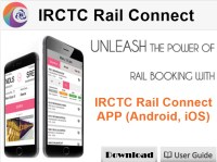 IRCTC Rail Connect App Launched
