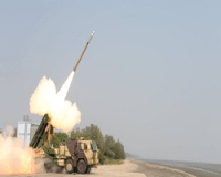 Successful Test Firing of Guided Pinaka
