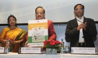 Dr. Harsh Vardhan released Braille Atlas for Visually Impaired