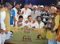 Haryana wins Rs 1 crore Kabaddi championship