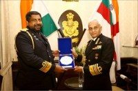 Visit of Commander of The Sri Lankan Navy