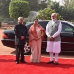 State Visit of President of Nepal to India