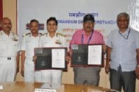 MoU between Indian Navy and Space Application Centre