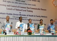 National Training for Universal Screening and Control of Common NCDs