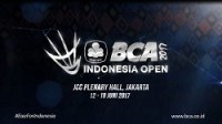 BCA Indonesia Open Superseries 2017