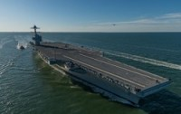 Gerald R. Ford (CVN 78) Delivered