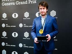 Teimur Rajabov Wins the Geneva FIDE Grand Prix 2017