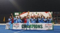 Indian Men's Hockey Team were crowned Hero Asia Cup 2017