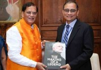 'Making of a Legend' Book on life of PM Modi launched in Washington