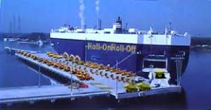 RO RO (Roll on, Roll off) ferry service