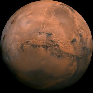 water structure and possibility of life on Mars