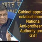 National Anti-profiteering Authority under GST
