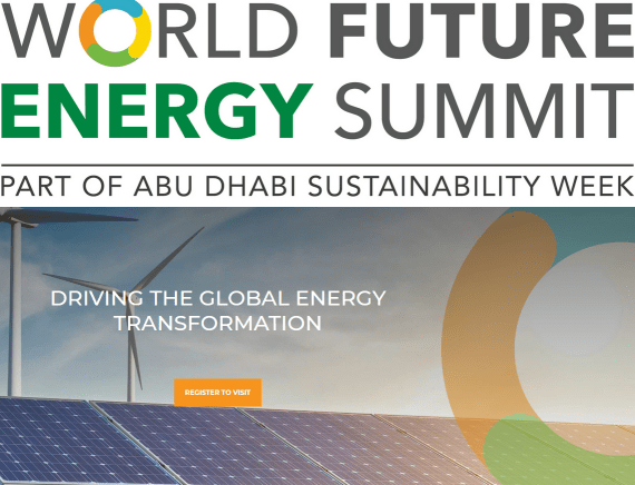 International Solar Alliance Forum at World Future Energy Summit, Abu Dhabi