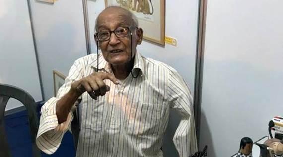 Legendary cartoonist Chandi Lahiri passes away