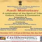 CM TO INAUGURATE 'AADI MAHOTSAV'