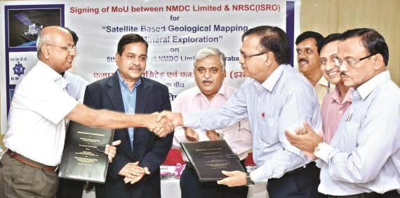 MoU for mineral exploration