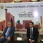 "Exhibition ""India –Uzbekistan Dialogue of culture"""