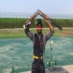 Angad Vir Singh Bajwa shoots gold at 8th Asian Shotgun Championship