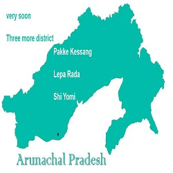 Arunachal gets 24th district a day after Shi Yomi's creation