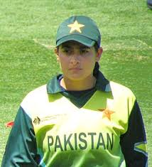 first Asian woman cricketer