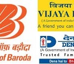The Cabinet recently approved the merger of Bank of Baroda with which two banks