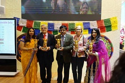 India Bags First Prize at The International 'Golden City Gate Tourism Awards 2019'