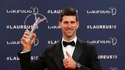Novak Djokovic won Laurens world sportman of the year award