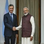 Argentina president state visit to India