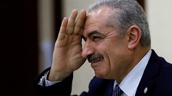 president of the Palestinian Authority, has appointed long-time ally Mohammad Shtayyeh as prime minister