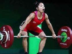 Mirabai Chanu notched up gold at EGAT Cup in Thailand