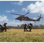 The US military forces and the Indian National Security Guard