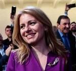 1st female President of Slovakia