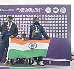 Indian Para-Athletes clinch medals at Asian Road Para-cycling Championship