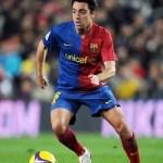 Spain midfielder Xavi Hernandez