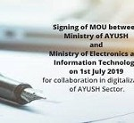 AYUSH ministry inks MoU with MeitY