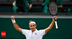 Federer Earns Historic 100th Wimbledon Win