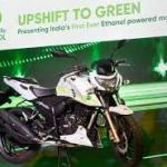 India's first ethanol-based motorcycle