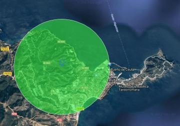 Ceuta 3Km radio dron