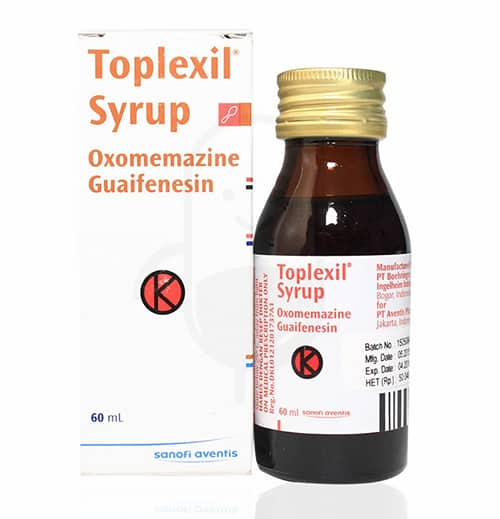 Toplexil Syrup Side Effects