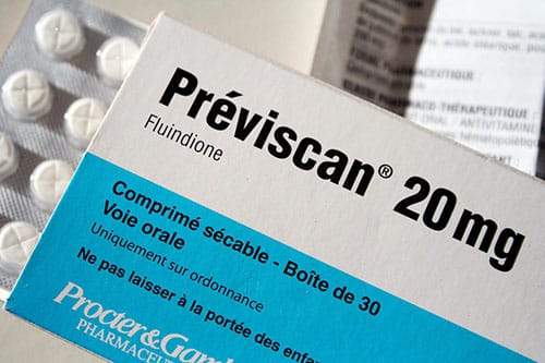 Previscan (Fluindione) Side Effects