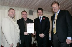 Will Roby and Andy Francis - Keep In Touch project national award ceremony